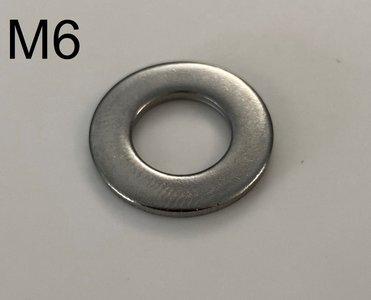inox rondellen M6
